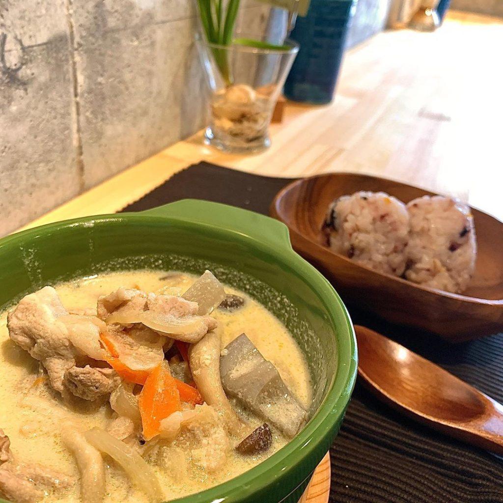 野菜たっぷり豆乳みそスープ
