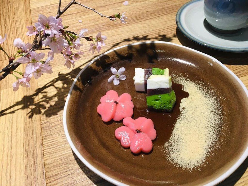 あっとほーむ春のカフェイベント 3日間限定のスイーツ『桜プレート』